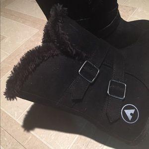 Airwalk Black buckles Boots